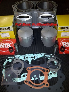 Full Bore top end kit with pro x pistons