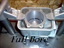 Full Bore boring cylinder